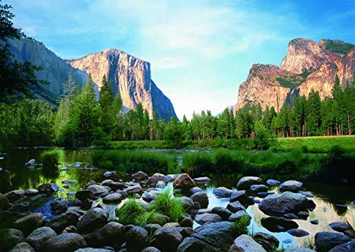 Ravensburger–19206–Puzzle Tal Yosemite, 1000Teile