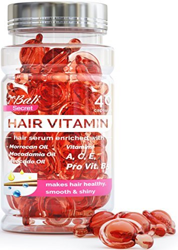 Hair Serum – Hair Treatment – Argan Macadamia Avocado Oil – Human Hair Vitamins – Hair Silk – Best Hair Serum – Hair Treatment for Damaged Hair – Hair Oil for Women – Hair Conditioner – Moroccan Oil