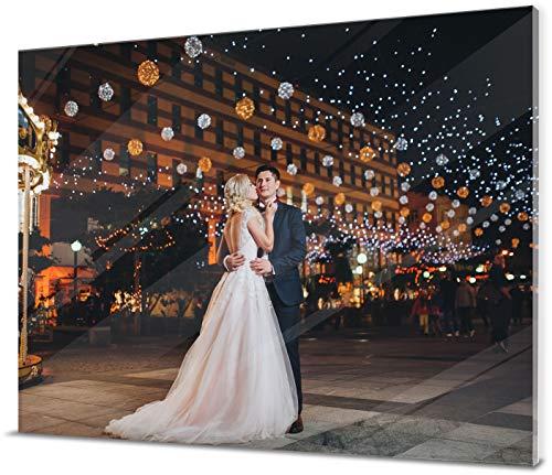 wandmotiv24 Ihr Foto auf Acrylglas - 1-teilig - Querformat 80x60cm (BxH), SOFORT ONLINE VORSCHAU, personalisiertes Glasbild mit Wunsch-Motiv, eigenes Bild als Wandbild, Fotogeschenke, Geschenke,