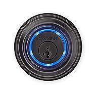Kwikset - Kevo 99250-203 Kevo 2nd Gen Bluetooth Touch-to-Open Deadbolt Smart Lock Featuring SmartKey Security, Venetian Bronze