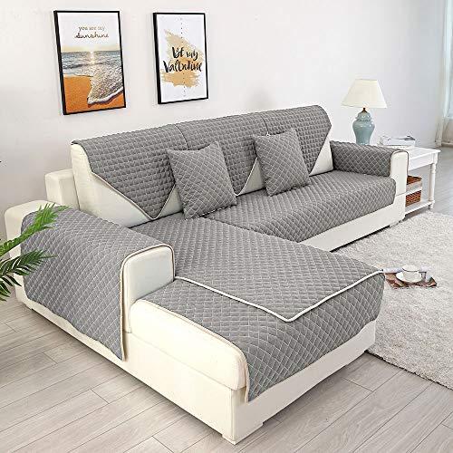 willstar - Fundas de sofá Antideslizantes en Forma de L con protección Completa para Perros y Gatos