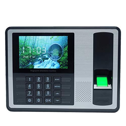 Docooler Biometrische Fingerabdruck-Kennwort-Anwesenheits-Maschinen-Angestellter, der Recorder 4 Zoll TFT LCD-Schirm DCS 5V Zeit-Anwesenheits-Uhr eincheckt