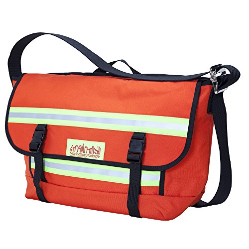 Manhattan Portage Medium Professional Bike Messenger Bag (Orange)