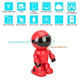 HD wireless Robot IP Camera,FEISIER 960P Security Camera 1.3MP CMOS Baby Monitor Pan Tilt Remote Home Security P2P IR Night Vision for Mobile Android/IOS and Laptop (Cam360)