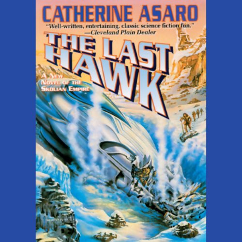 The Last Hawk audiobook cover art
