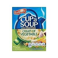 野菜122グラムのカップスープクリーム (Batchelors) (x 4) - Batchelors Cup A Soup Cream of Vegetable 122g (Pack of 4)