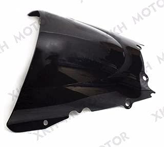 XKH Group Motorcycle Dark Smoke Windscreen Windshield For Yamaha Yzf R6 1998-2002 1999 2000 2001 2002