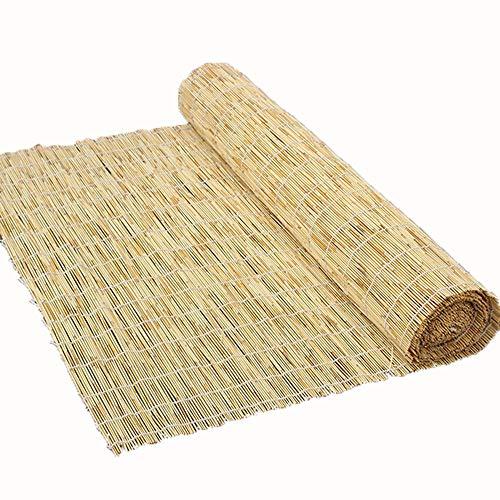 Bambusrollos, BambusRollo-Sichtschutzrollos, Lamellenrollos, Sonnenschutz - Staubschutz - Filter, Fenster - Innenhof - Balkon - Dekorative Wandverkleidung