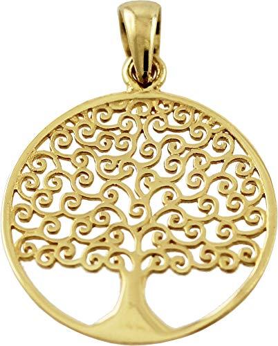 CH.ABRAMOWICZ Anhänger Gold 333 Gelbgold Lebensbaum