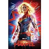 Marvel Captain Poster Higher, Further, Faster