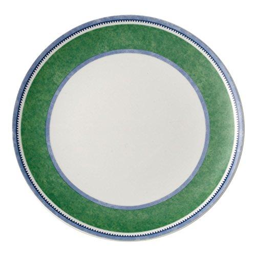 Villeroy & Boch Switch 3 Costa Frühstücksteller, 20 cm, Porzellan, Weiß/Grün/Blau
