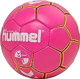 hummel HMLKIDS-Handball Ball for Kids Balón de Balonmano, Infantil, Rosa y Amarillo, 0.0