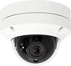 HDView 5MP Megapixel HD IP Network Camera H.265 POE Digital WDR Wide Dynamic Range 2.8mm Lens 3-Axis Angle IR Infrared Night Vision Dome ONVIF, VCA Intelligent Analytics