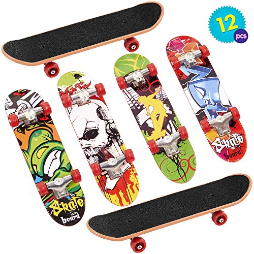 2Pcs Doigt Skateboard Finger Skate Boarding Modèle Ultime Sports Enfants