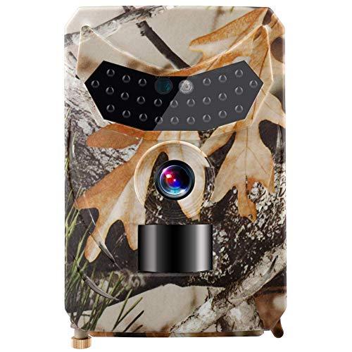 JFZCBXD Cámara de 12MP Rastro de la Caza de la cámara HD 1080P 42LED de la Fauna Scouting CAM visión Nocturna IR