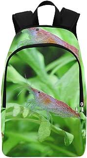 Crystal Red Shrimp Standing On Aquatic Moss Fenny Packs Waist Bags Adjustable Belt Waterproof Nylon Travel Running Sport Vacation Party For Men Women Boys Girls Kids