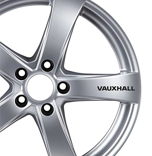 6 x Vauxhall Roues en alliage Stickers Corsa Astra Zafira Insignia VXR voiture d'accordage
