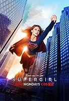 【フレーム付-黒-】映画ポスター スーパーガール Super Girl DC A3サイズ US版 mi2 [並行輸入品]