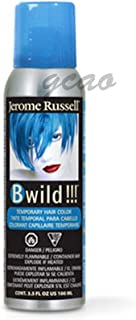 Jerome Russell B Wild (Bengal Blue) Temporary Hair Color Spray 3.5oz