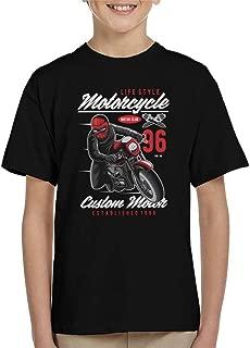 Motorcyle Lifestyle Custom Motor Kid's T-Shirt