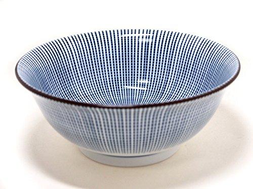 SENDAN-TOKUSA 7.3inches Noodle bowlJiki Japanese Original Porcelain