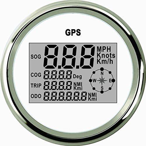 ELING Waterproof Courier shipping free Digital GPS Regular dealer Speedometer Cou Trip Odometer Meter