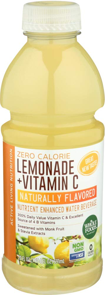 Whole Foods Market NEW before selling ☆ Nutrient Enhanced Water Beverage Calor 2021 new Zero