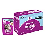 Whiskas Adult ( 1+ Year ) Wet Cat Food, Whitefish in Gravy –