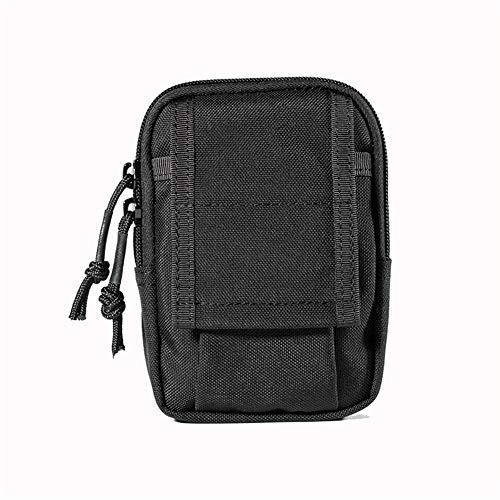 QXYOGO RiñOnera Running Medida de la Cintura del Hombre Pack de Deportes al Aire Libre Operando Bolsa 1 (Color : Black Color)