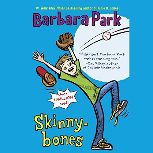Skinnybones audiobook cover art