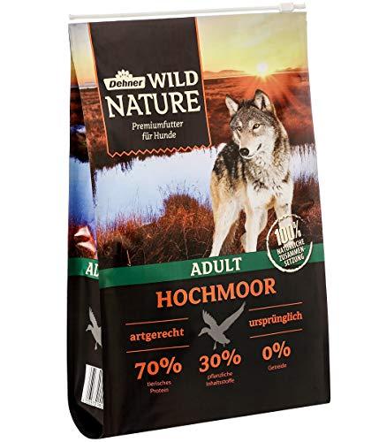 Dehner Wild Nature Hundetrockenfutter Adult, Hochmoor, 4 kg