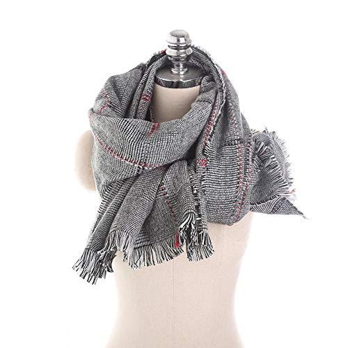 Kleine sprei met kwast, kasjmier-imitatie, sjaal voor dames