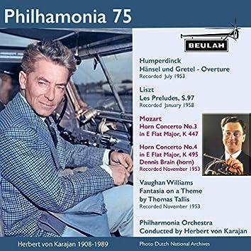 Philharmonia 75 Herbert Von Karajan