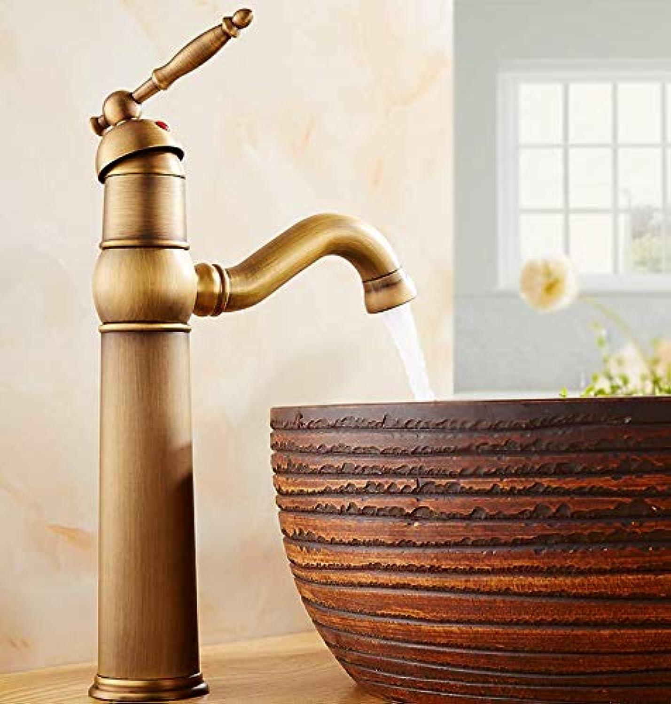 Bathroom Faucet Antique Faucet European Retro Faucet Art Basin Faucet Basin Faucet Heightening Classical Faucet