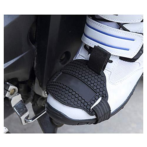 KKmoon beschermende hoes voor motorschoenen beschermt tegen schade door het indrukken van de versnellingshendel.
