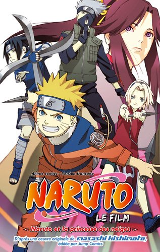 Anime Comics Naruto - Naruto et la Princesse des Neiges