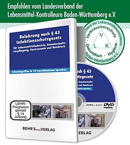 Belehrung nach §43 Infektionsschutzgesetz: Für Lebensmittelindustrie, Gastronomie, Gemeinschaftsverpflegung und Handwerk in 10 Sprachen