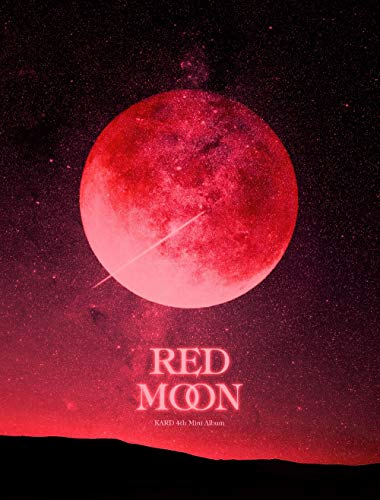 DSP Media Kard - Red Moon (4th Mini Album) Album + extra Fotokarten-Set