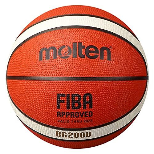 Molten Europe B6G2000 Basketball ORANGE/Ivory 6