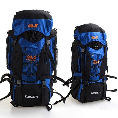Etanche sac de sport en plein air grandes alpinisme en acier sac randonnée épaule sac à dos sac hommes et les femmes d'équitation