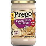 Prego Alfredo Sauce, Roasted Garlic Parmesan, 22 oz. Jar (Pack of 6)