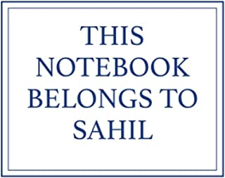 This Notebook Belongs to Sahil