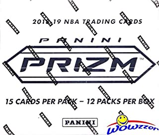 2018/2019 Panini PRIZM NBA Basketball MASSIVE EXCLUSIVE JUMBO FAT CELLO Box with 180 Cards including (36) Red, White & Blue PRIZMS! Look for RCs & Autos of Luka Doncic, Deandre Ayton & More! WOWZZER!