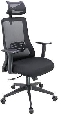 Cadeira Escritório Ergonômica Estocolmo Preta Conforsit