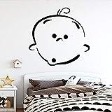 mlpnko Bebé decoración Pegatina Sala de Estar Dormitorio Impermeable decoración del hogar 45x46cm