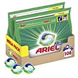 Ariel All-in-1 Pods, Washing Liquid Laundry Detergent Tablets/Capsules, 108 Washes (54 x 2)