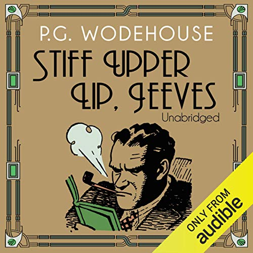 Stiff Upper Lip, Jeeves cover art