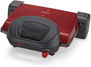 Arzum - Granite Grill and Sandwich Maker 1800 W - Red - AR2012