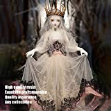 BJD Dolls 1/4 Ball Jointed Doll Vampire Elves Hwayu Minifee Girl Dolls with Costume Accessories Full Set