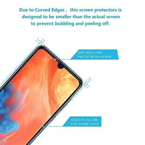 Didisky Panzerglas Hartglas Displayschutzfolie für Huawei Y7 2019, [4er Pack ] Kratzfest, 9H Härte, Keine Blasen, High Definition, Einfach anzuwenden, Fall-freundlich - 2